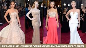 Evening Dresses Red Carpet by The Oscars 2013 U2013 Strapless Evening Dresses That Dominated The Red