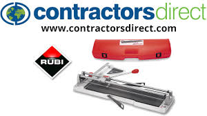Brutus Tile Cutter Home Depot by Rubi Tr Series Tile Cutters Youtube