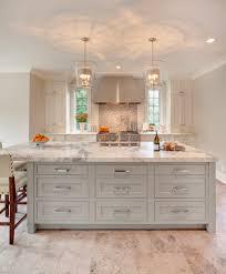 kohler highline classic kitchen transitional with pendant lights