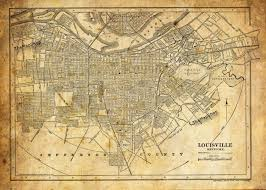 This A Reproduction Of A 1856 Street Map Of Louisville. The Map ... Eat Bowl And Play In Louisville Kentucky Main Event Southern Classics Welcome To Linex Of The Bluegrass Real Serious Protection Truck Accsories Store In Ky Car Stuff Shipping Rates Services The Waterfront Challenge Park Slugger Artbigger Than Life 10 Things Do With Outoftown Guests To Places Go Outside
