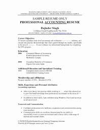 Unique Accounting Graduate Resume Fresh Cover Letter Formatted Sample