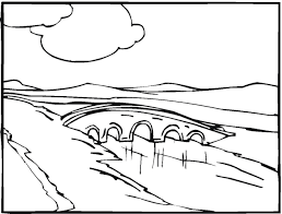 Nice Landscape Coloring Pages Printable Adult
