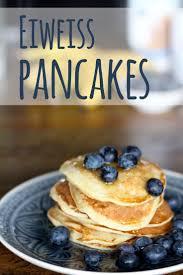 eiweiß pancakes rezept pfannkuchen mit eiweißpulver whey und banane