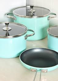 Savannah Turquoise Kitchen Canister Set by Greenpan U0026 174 Nonstick 10 Piece Cookware Set Aqua Turquoise