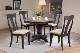Amazon.com - Iconic Furniture 5 Piece Round Panel Back Upholstered ... Trisha Yearwood Home Music City Hello Im Gone Ding Room Table Grey Griffin Cutback Upholstered Chair Along With Dark Wood Amazoncom Formal Luxurious 5pc Set Antique Silver Finish Tribeca Round And 2 Upholstered Side Chairs American Haddie Light Tone 4 Value Hooker Fniture Corsica Rectangle Pedestal Matisse With W Ladder Back By Paula Deen Vienna Merlot Kayla New