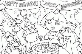 Full Image For Dora The Explorer Coloring Pages Pdf