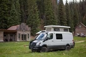 Mercedes Benz Sprinter And Metris Van Camping At Dunton Hot