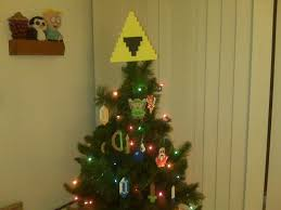 Christmas Tree Toppers Pinterest by Legend Of Zelda Perler Bead Triforce Christmas Tree Topper And