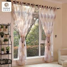 moderne vorhänge für wohnzimmer esszimmer schlafzimmer ausgebrannten baum gaze vorhang fenster bildschirm polyester stoff