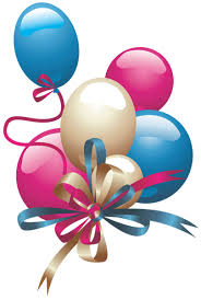 Balloons PNG Clipart Birthday