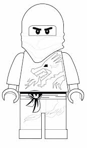 Ninjago Dragon Coloring Pages Ninja Free