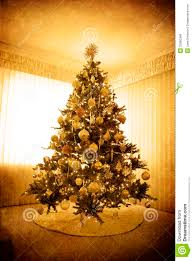 Download Antique Christmas Tree Stock Photo Image Of Decorations
