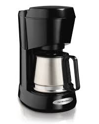 Amazon Hamilton Beach 5 Cup Coffee Maker With Stainless Carafe 48137 Drip Coffeemakers Kitchen Dining
