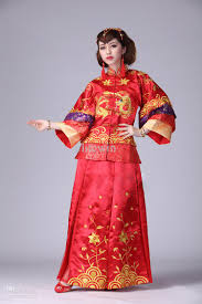 of chinese dress