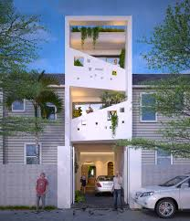 100 Architectural Designs For Residential Houses 50 Narrow Lot That Transform A Skinny Exterior Into Something
