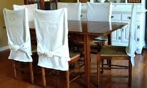 Dining Room Chairs Covers Astonishing How To Make