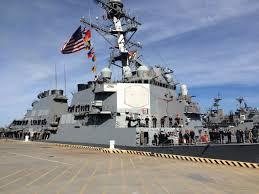 Uss Hornet Halloween Tour by Norfolk Based Uss George H W Bush Begins Strikes Against Isis
