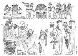 Egyptian Party Wedding Banquet By Hellenielsen82deviantart On DeviantART Coloring SheetsAdult