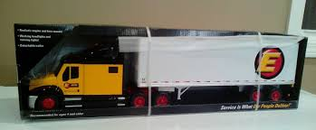 First Gear Estes Express Lines Big Rig 53' Trailer Truck Made For ...