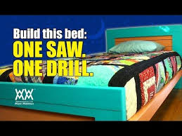 How To Build A Platform Bed With Drawers Video by 298 Best Wwmm Videos Images On Pinterest