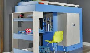chambre enfant avec bureau lit mezzanine enfant avec bureau lit sur lev axel mobilier chambre