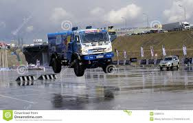 100 Truck Jump Russian Rally Kamaz In Editorial Image Image Of Team