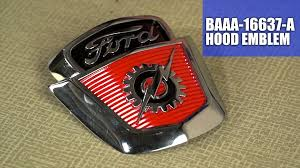 Dennis Carpenter BAAA-16637-A Ford Hood Emblem - YouTube 196779 Ford Truck Parts 2012 By Dennis Carpenter And Cushman Hood Name Plate Restoration C9tz10876a Instrument Cluster Bezel Youtube Bedside Tie Down Hook 194856 Home Facebook 195766 Trucks Econoline 2011 Lh Front Fender 1961 Catalog 80 96 Pdf Cowl Patch Panel 32tall