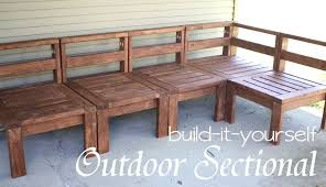 Homemade Wood Patio Furniture Outdoor Tables Making A Wooden Table