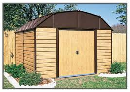 Arrow Woodridge Steel Storage Sheds by Arrow Woodhaven Shed Wh109