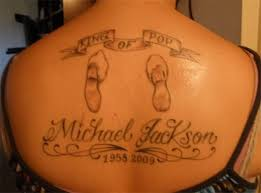King Of Pop Micheal Jackson WoW A Cool Memorial Themed Tattoo For