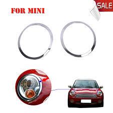 brand new abs car headlight trim ring chrome headl cover for
