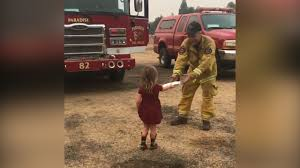 100 Toddler Fire Truck Videos VIDEO Adorable 2yearold Girl Passes Out Burritos To Tired
