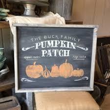 Boulder Pumpkin Patch 2015 by 18 U2033x21 U2033 Framed Wood Sign Workshop Many Fall Halloween And