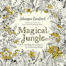 Magical Jungle An Inky Expedition Colouring Book Books Amazoncouk Johanna Basford 9780753557167