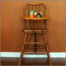 Eddie Bauer Wood High Chair Cover by Hardware For Wooden High Chair Tray Chairs Home Decorating