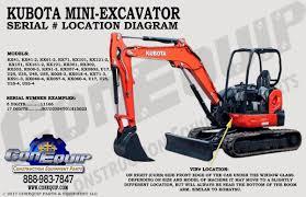 100 Heavy Truck Vin Decoder Serial Number Location For Your Kubota Mini Excavator