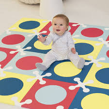 amazon com skip hop interlocking foam floor tiles playspot