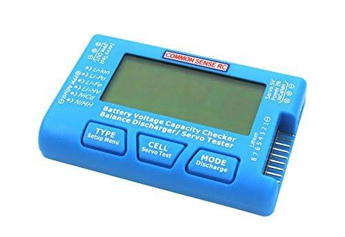 Common Sense RC Cellspy 8 Voltage Checker, Balancer and Servo Tester