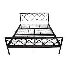 Queen Bed Frame Walmart by Steel Bed Frame Queen Bed Framesmetal Bed Frames Metal Bed Frame