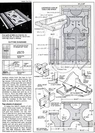 Folding Picnic Table Plans Build by Diy Folding Picnic Table U2022 Woodarchivist