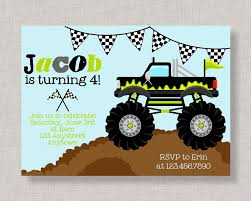 Monster Truck Invitation Monster Truck Birthday Monster Blaze And The Monster Machines Invitation Birthday Truck Cake Cbertha Fashion And The Party Supplies Canada Open Amazoncom Invitations 8ct Its Fun 4 Me 5th Themed Alanarasbachcom Machine By Free Printable Cupcake Fill In Design Sophisticated