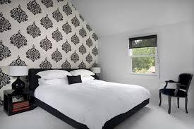 Black White Bedroom Designs Photo