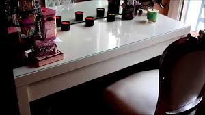 rangement make up chaise baroque pour coiffeuse 2015