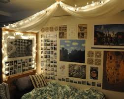 University Bedroom Ideas How To Decorate Your Dorm Room With Fairy Lights