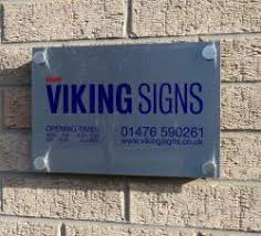 pany fice Plaques Viking Signs Grantham Safety Signs