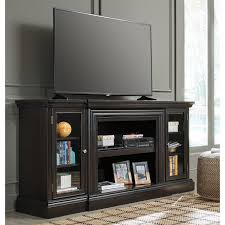 Ashley Furniture Carlyle XL TV Stand in Almost Black