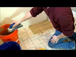 how to grout tile correct technique makes it easy youtube