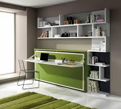 meuble bibliotheque bureau integre bureau intégré avec option bibliothèque lit escamotable