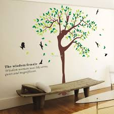 Tree Wall Decor Ideas by Attractive Wall Stickers For Living Room Designs U2013 Wall Decals For