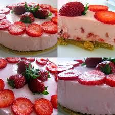 enfin mon gâteau aux fraises façon cheese cake recette